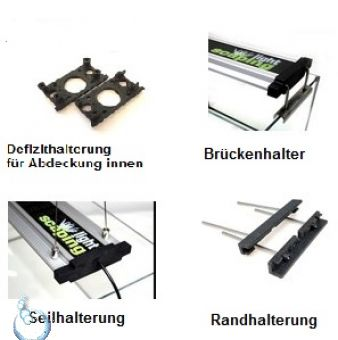Scaping Light LED Beleuchtung für Aquarium & Terrarium - Terra/Color/UV-A
