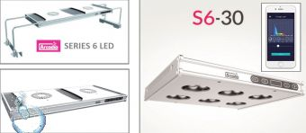Arcadia SERIES 6 LED 120cm 64x 5W, 32x 3W, 1160x205x31mm