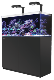 RED SEA REEFER™ 170 Deluxe System Black- 1 unit RL 90 & mounting arms